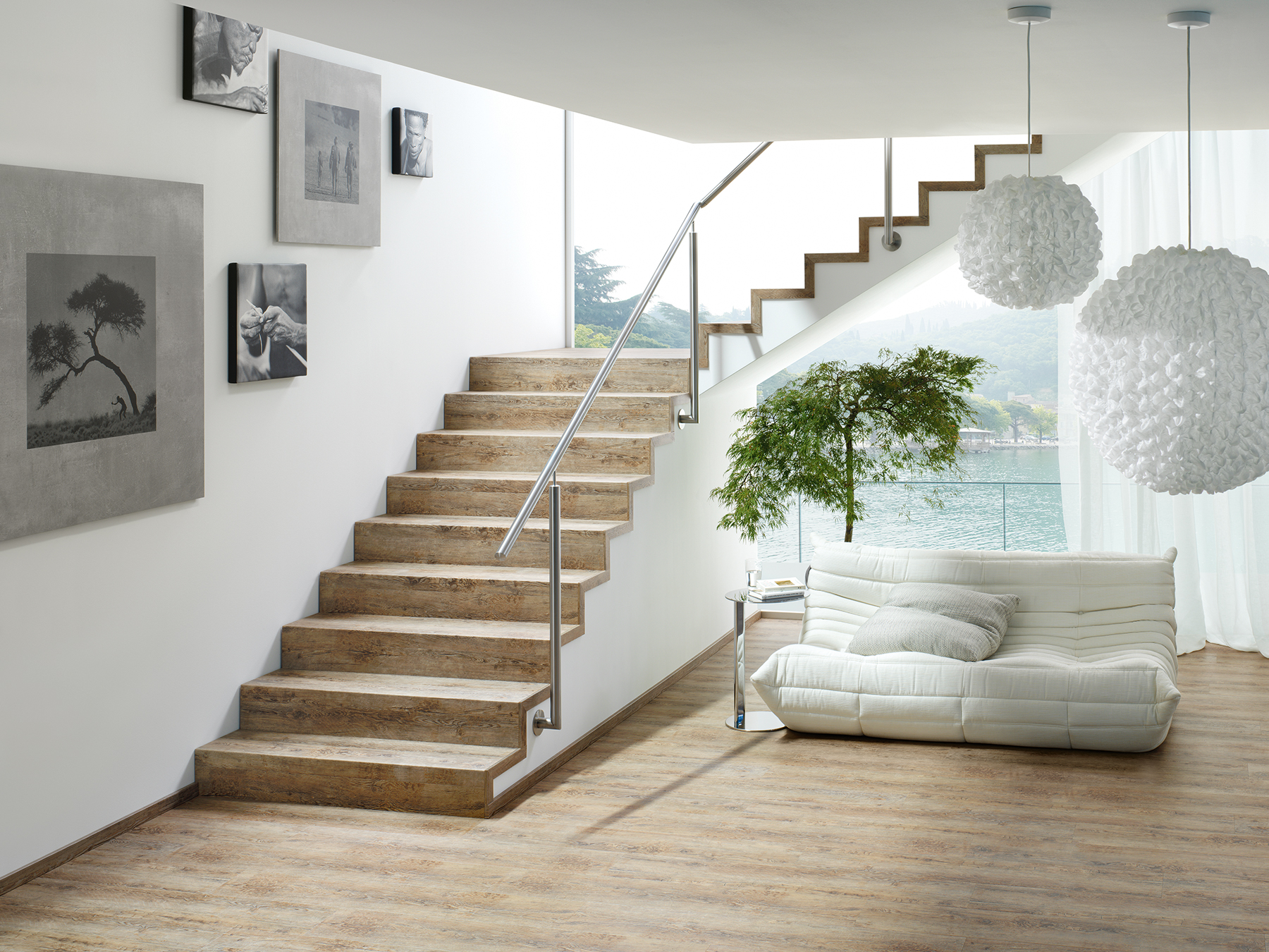 Treppensysteme Treppe Eiche Westside tilo