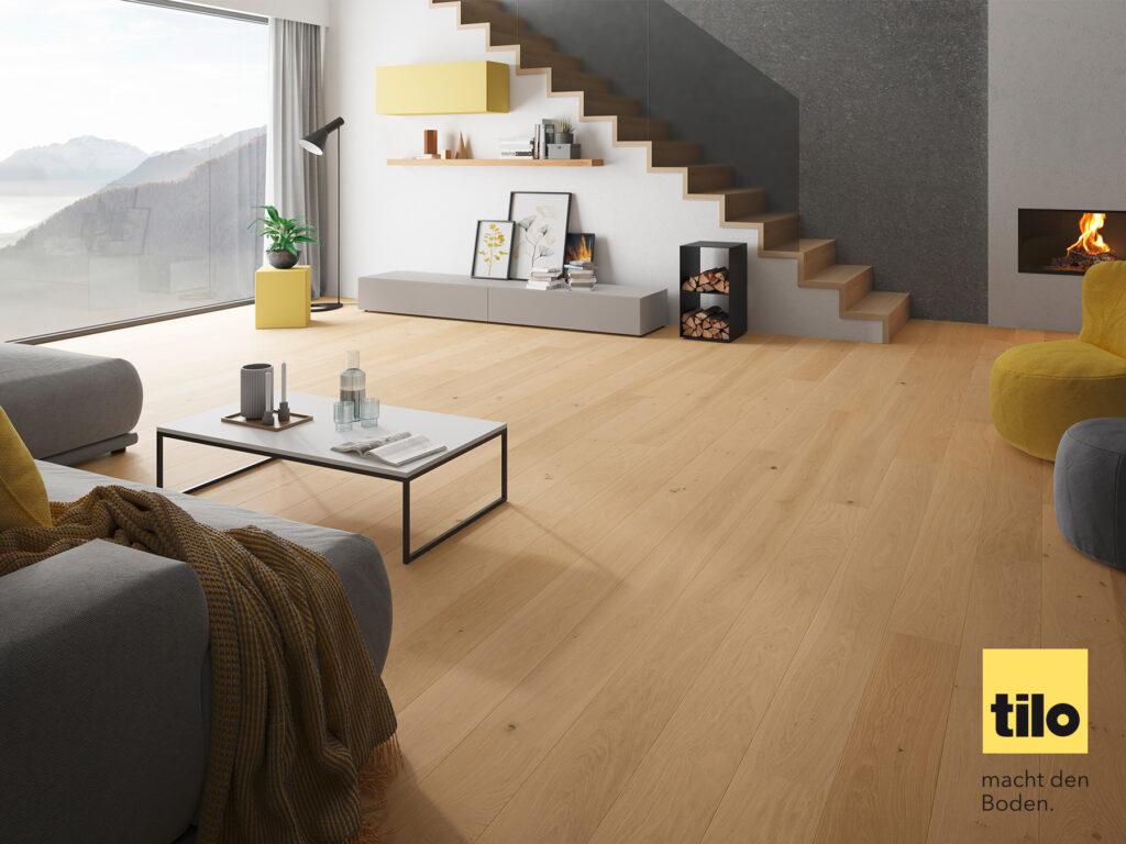 Modern Living: Interior Trend sichtbar im Wohnzimmer